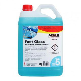 AGAR FAST GLASS - GLASS & WINDOW CLEANER 5L