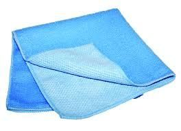 GALA POWER CUT MICROFIBRE CLOTH 40X40CM - BLUE - CTN - 50