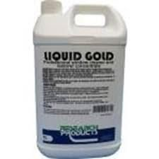 "Research "" LIQUID GOLD"" Window Cleaner & Restorer - 5L"