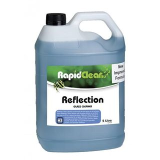 "Rapid Clean "" REFLECTION ""  Glass Cleaner - 5L"