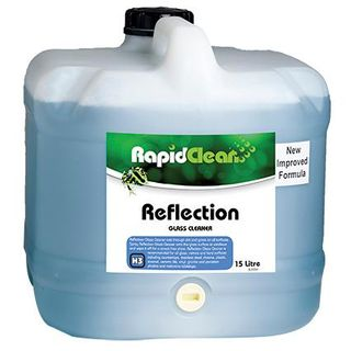 "Rapid Clean "" REFLECTION "" Glass Cleaner -15L"