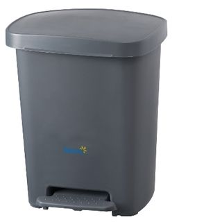 OATES PEDAL BIN - GREY 30L ( BB-30PGY / 165948 ) - EACH