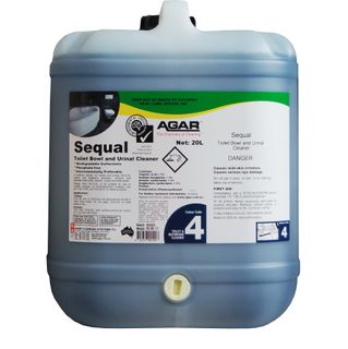 AGAR SEQUAL BATHROOM CLEANER 20L