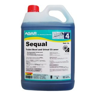 AGAR SEQUAL BATHROOM CLEANER 5L