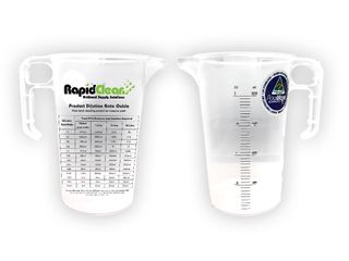 RAPID CLEAN MEASURING / DILUTION JUG -1L -20 PACK