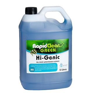 "Rapid Clean "" HI GENIC "" All over washroom cleaner - 5L (Recognised Environmental)"