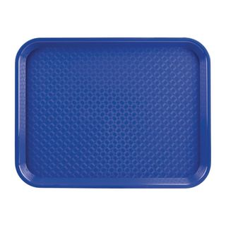 FOODSERVICE TRAY POLYPROP - BLUE - 350X450MM - P512 - EACH