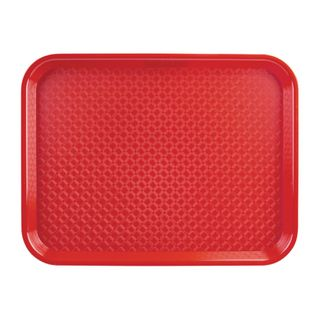 FOODSERVICE TRAY POLYPROP - RED - 350X450MM - P510 - EACH