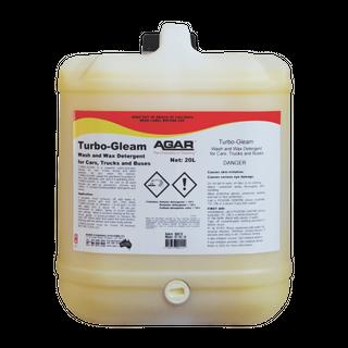 AGAR TURBOGLEAM - WASH & WAX VEHICLE CLEANER - 200L