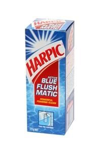 HARPIC FLUSHMATIC 125GM, Cistern Foaming Clean (DC) - EACH