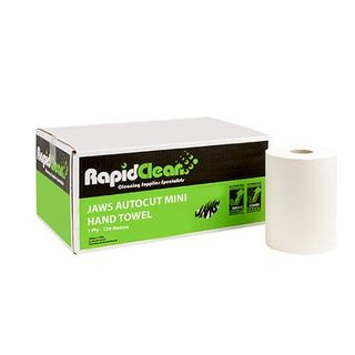 "Rapid Clean Jaws ""MINI"" Autocut - 120m X 6 ROLLS-CTN"