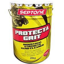 "Septone "" PROTECTA GRIT "" INDUSTRIAL HAND CLEANER - 20KG"