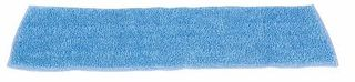 RUBBERMAID MICROFIBRE DAMP MOP REFILL (BLUE) 45.7CM SUITS PRO SPRAY MOP ( RFGQ40920 BL00 ) - EACH
