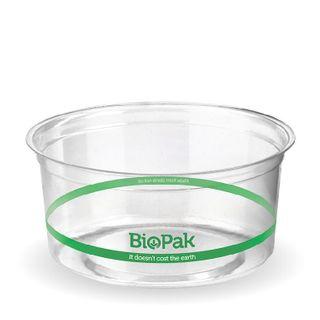 BIOPAK 360ml COLD Bowl - 121mm - clear - 500 - ( P-360 ) - CTN