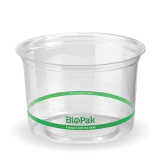 BIOPAK 500ml COLD Bowl - 121mm - clear - 500 - ( P-500 ) - CTN