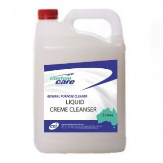 CUSTOM LIQUID CREME CLEANSER - 5L