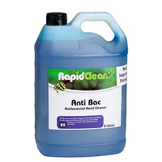 "Rapid Clean "" ANTI BAC"" (Unperfumed Liquid Hand soap) - 5L"