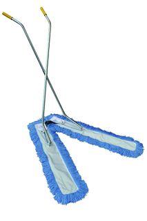 EDCO ELECTROSTATIC SCISSOR MOP BLUE FRINGES ( 32050 ) - COMPLETE - 100CM - EACH