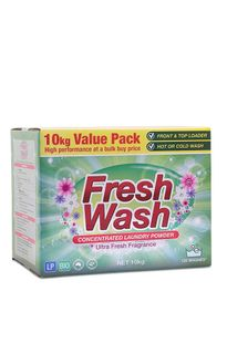 Clean Plus Laundry Powder Fresh Wash CLP Box - 10KG