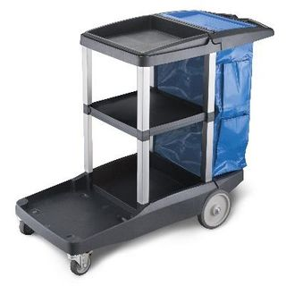 OATES PLATINUM JANITORS CART MK2 -(JC-3000ZX / 165534) -EACH