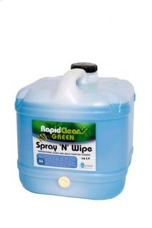 "Rapid Clean "" SPRAY & WIPE ""Antibacterial Cleaner - 15L (Recognised Environmental)"