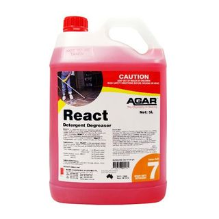 AGAR REACT HD CLEANER & DEGREASER 5L