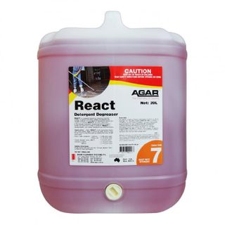 AGAR REACT HD CLEANER & DEGREASER 20L