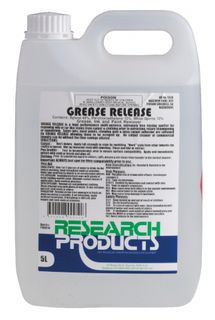 "Research "" GREASE RELEASE "" Grease, Oil & Paint Remover - 5L"