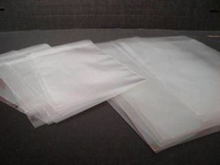 TP 35UM 12 X 8 (305 X 205 MM) LDPE CLEAR / PLAIN BAGS - 1000-CTN