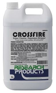 "Research "" CROSSFIRE "" Cleaner / Degreaser / Stripper - 5L"