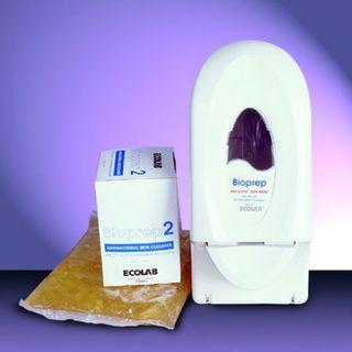 ECOLAB BIOPREP 2 - ANTIBACTERIAL SKIN CLEANSER - 750ML - 12 - CTN