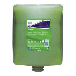 DEB SOLOPOL LIME HAND CLEANER POD - 4L X 4 - CTN