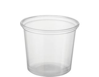 CASTAWAY REVEAL 150ML CLEAR ROUND CONTAINER ( CA-FC150 ) - 1000 - CTN