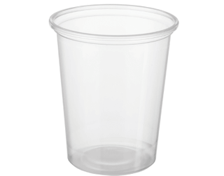 CASTAWAY REVEAL 200ML CLEAR ROUND CONTAINER ( CA-FC200 ) - 1000
