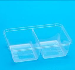 BONSON BS - 650ST 2 COMPARTMENT RECTANGULAR CONTAINER - 500 -CTN