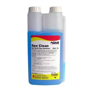 AGAR SPA CLEAN - CLEANER & SANITISER 1L