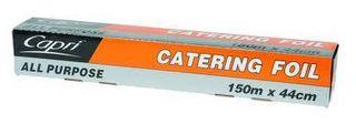 CAPRI CATERING FOIL - ALL PURPOSE - 44CM X 150M - 6 - CTN