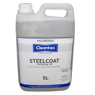 "Cleantec "" STEEL COAT "" Polishing Oil - 5L"