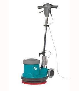 TENNANT F8 FLOOR SCRUBBING MACHINE 430MM DIA - (400RPM)