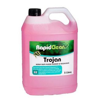 "Rapid Clean "" TROJAN "" Heavy Duty Floor Cleaner & Degreaser - 5L"