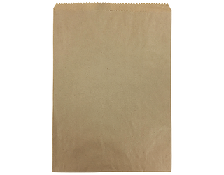 6F BROWN BAG 330 X 240 MM - 500 - PKT