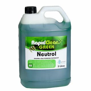 "Rapid Clean "" NEUTROL ""  Low Foaming Floor Cleaner - 5L (Recognised Environmental)"