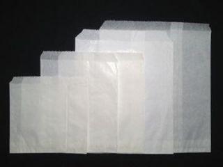 12F WHITE BAG 390 X 280 MM - 500 - PKT