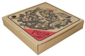 "9"" BROWN PIZZA BOXES - 100 - PKT"