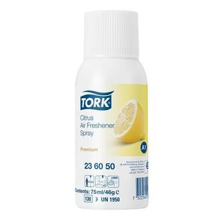 "TORK AIR FRESHENER "" CITRUS "" REFILL 75ML - ( 23 60 50 ) - 12 - CTN"
