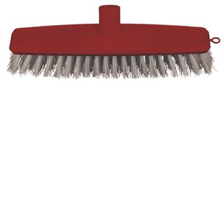 OATES 300MM RED FLOOR SCRUB - HEAD ONLY (B-12426-R /164848) -EACH