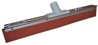 EDCO 900MM ALUMINIUM WHITE HEAD FLOOR SQUEEGEE - RED RUBBER -41268-EACH