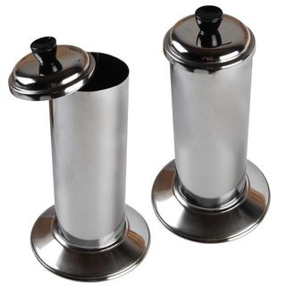 STRAW DISPENSER - STAINLESS - LIFT TOP -EACH