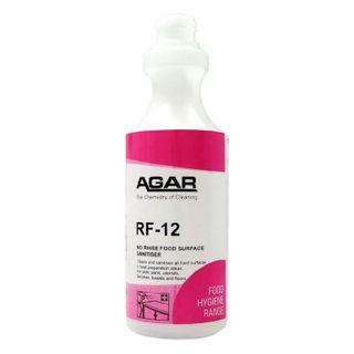 PRINTED AGAR RF-12 NO RINSE SANITISER BOTTLE 500ML (D5RF ) - EACH