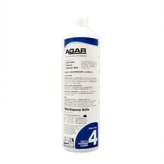 PRINTED AGAR FRESCO WASHROOM CLEANER BOTTLE 750ML (D7AF) - EACH